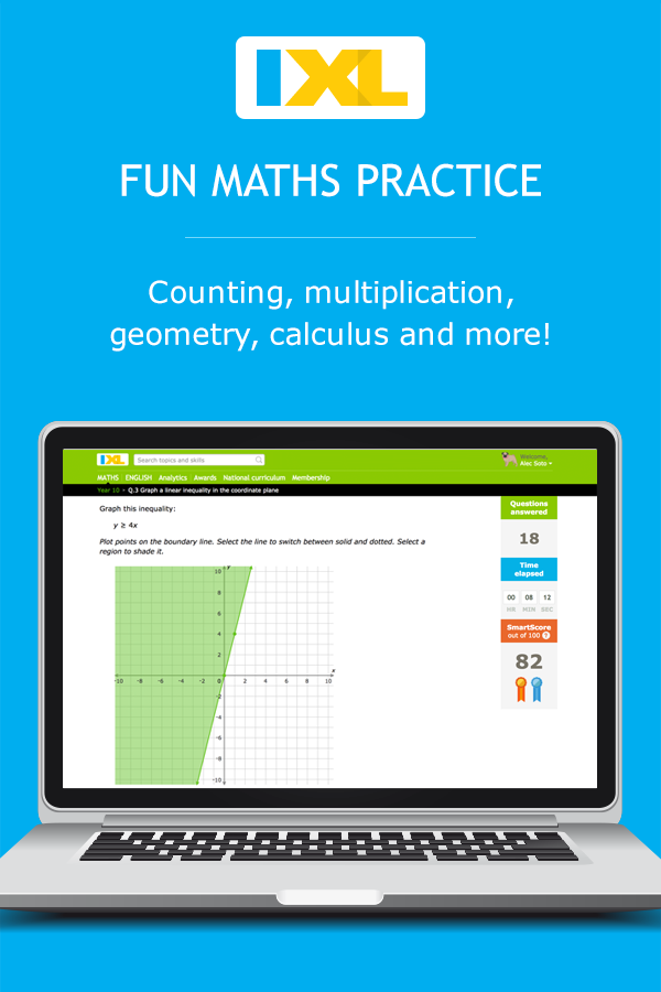 IXL Maths | Online maths practice