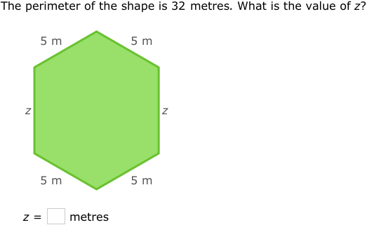 how to find the missing side of a trapezoid